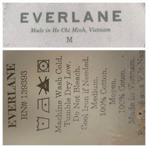 Everlane Tops - EVERLANE The Crew Sweatshirt Marled Navy M